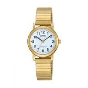 Lorus horlogeband RRS78VX9 / V501 X471 / RHN147X Staal Doublé 13mm