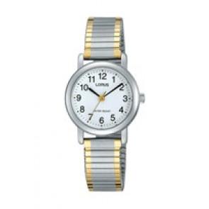 Pasek do zegarka Lorus V501-X471-RRS79VX9 Stal Dwubarwny