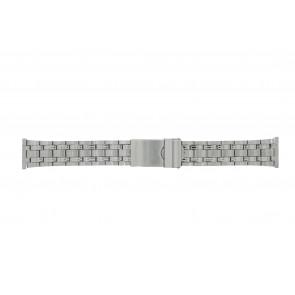Morellato horlogeband ST1022 Staal Zilver 22mm
