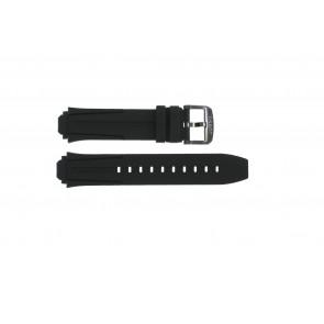Pasek do zegarka Tissot T1114173744103A / T1114173744107A / T603042129 Krzem Czarny 18mm