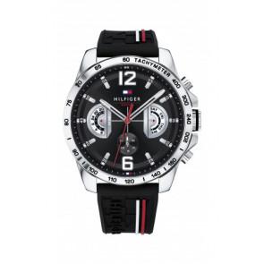 Pasek do zegarka Tommy Hilfiger TH-320-1-14-2380 Gumowy Czarny