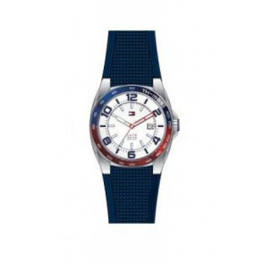 Horlogeband Tommy Hilfiger TH1790885 Rubber Blauw