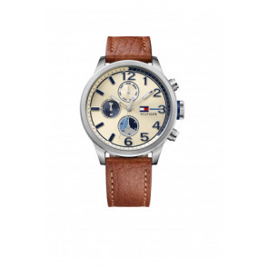 Pasek do zegarka Tommy Hilfiger TH-102-1-14-2038 / TH679301952 Skórzany Koniak 22mm