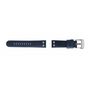 Pasek do zegarka TW Steel TWB400 Skórzany Niebieski 22mm
