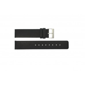 Pasek do zegarka Obaku V112 Skórzany Czarny 20mm