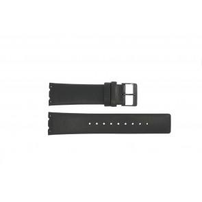 Pasek do zegarka Obaku V137 Skórzany Czarny 23mm