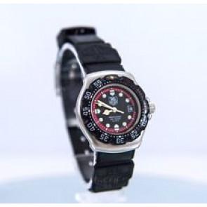 Pasek do zegarka Tag Heuer WA1411 Gumowy Czarny 15mm