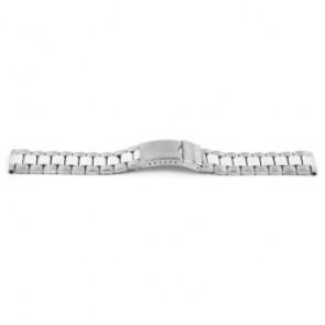 Horlogeband YH09 Staal Zilver 22mm