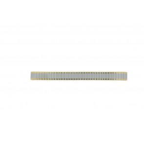 Pasek do zegarka Uniwersalny Bicolor-14 Haka-Flex Stal Dwubarwny 14mm