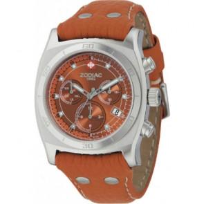 Pasek do zegarka Zodiac ZO7010 Skórzany Jasnobrązowy