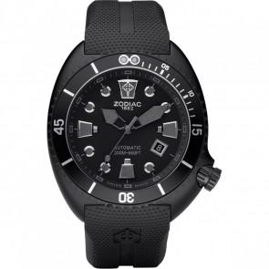 Pasek do zegarka Zodiac ZO8010 Gumowy Czarny 24mm