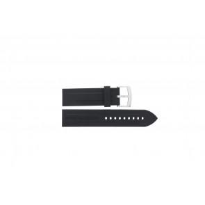 Pasek do zegarka Armani AR0527 Vanille / AR5826 Krzem Czarny 23mm