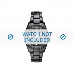 Armani horlogeband AR1423 Keramiek Zwart 10mm