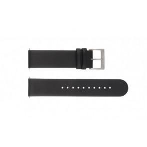 Mondaine horlogeband BM20063 / FE16822.20Q Leder Zwart 22mm