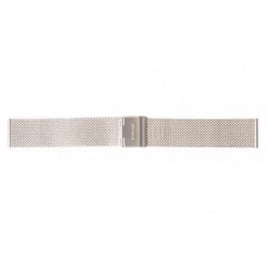 Mondaine horlogeband A669.30305.11SBM / 30305 / BM20062 / 30008 / 30305 / 30323  Staal Zilver 16mm