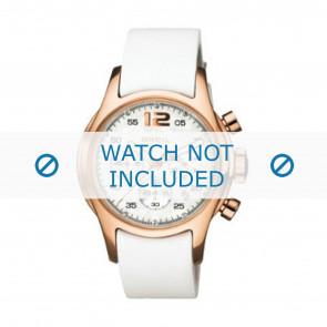 Breil horlogeband BW0265 Leder Wit 18mm