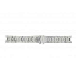 Buddha to Buddha horlogeband BTB.M.D.3H.06 / 46mm / BTB.M.D.3H.01 Staal Zilver 21mm