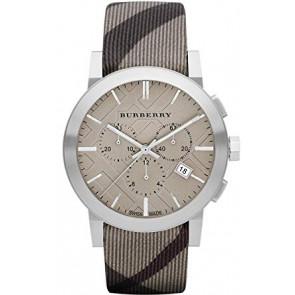 Pasek do zegarka Burberry BU9358 / 7177852 Skórzany Wielobarwność 20mm