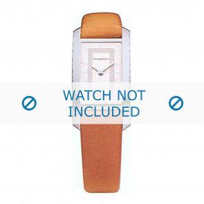 Burberry horlogeband BU1055 Leder Cognac