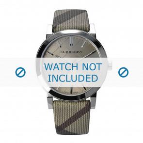 Burberry horlogeband BU9023 Leder Cream wit / Beige / Ivoor