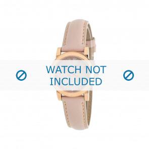 Burberry horlogeband BU9210 Leder Roze 14mm + standaard stiksel