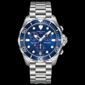 Certina horlogeband C032.417.11.041.00 / C605019661 Staal Staal / RVS