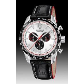 Pasek do zegarka Candino C4681 Skórzany Czarny