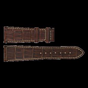 Certina horlogeband C610011091 Leder Bruin 23mm + wit stiksel