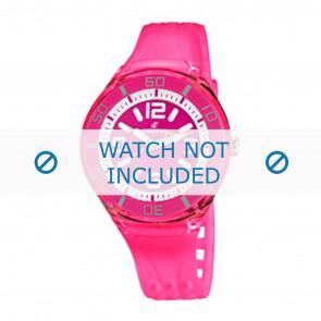 Calypso horlogeband K5588/4  Rubber Roze