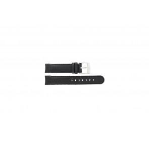 Pasek do zegarka Camel 4040-4059 Węgiel Czarny 18mm