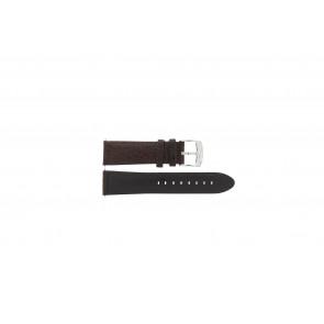 Pasek do zegarka Camel 4320-4347 / BC50938 WATERPROOF Skórzany Brązowy 22mm