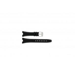 Pasek do zegarka Camel 6000-6007 Skórzany Czarny 22mm