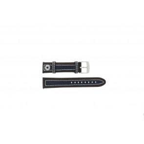 Pasek do zegarka Camel 3120-3129 / 3520-3529 Skórzany Brązowy 22mm