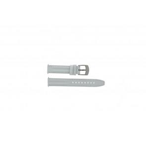 Camel horlogeband Active Leder Wit 16mm + wit stiksel