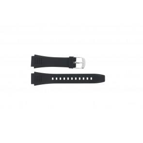 Pasek do zegarka Casio EFA-124-1AVW / 10268556 Plastikowy Czarny 20mm