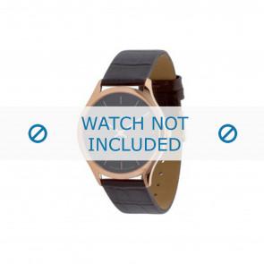 Calvin Klein horlogeband K26215 Leder Bruin 19mm