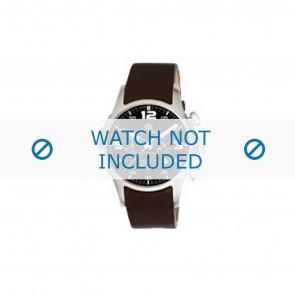 Dolce & Gabbana horlogeband 2519774184 Leder Donkerbruin
