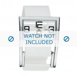 Dolce & Gabbana horlogeband 3719251192 Leder Wit