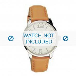 Dolce & Gabbana horlogeband 3719340281 Leder Bruin + bruin stiksel