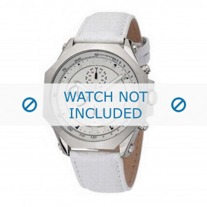 Dolce & Gabbana horlogeband DW0101 Leder Wit