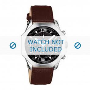 Dolce & Gabbana horlogeband DW0104 Leder Bruin