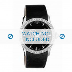 Dolce & Gabbana horlogeband DW0267 Leder Zwart