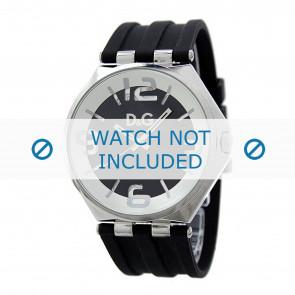 Dolce & Gabbana horlogeband DW0582 Rubber Zwart