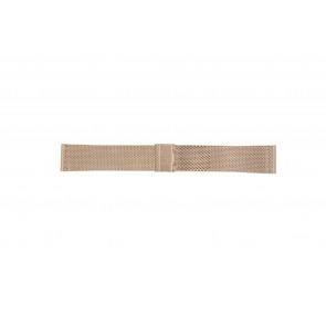 Davis Pasek Do Zegarka B0813 Stal Złoty (Rosé) 22mm