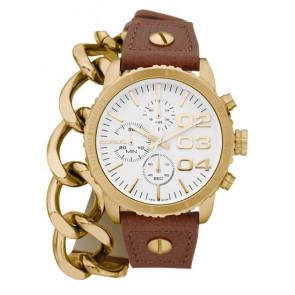 Pasek do zegarka Diesel DZ5308 Skórzany Brązowy 18mm
