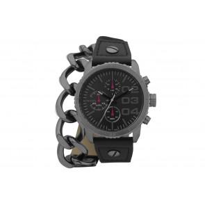 Pasek do zegarka Diesel DZ5309 Skórzany Czarny 22mm