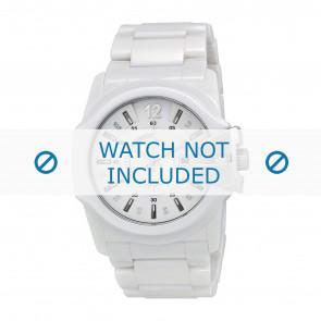 Diesel horlogeband DZ1515 Keramiek Wit 30mm