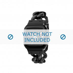 Diesel horlogeband DZ5181 Staal Zwart 23mm