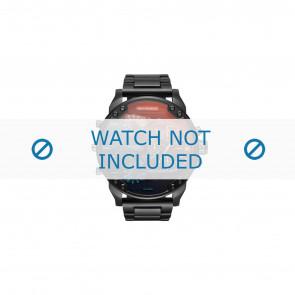 Diesel horlogeband DZ7395 Staal Zwart 28mm