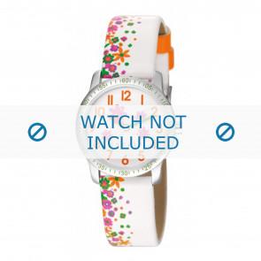 Esprit horlogeband ES103524-40WI Leder Wit